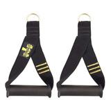 Puxador De Mão Alça Para Cross Over Pilates Remada Academia