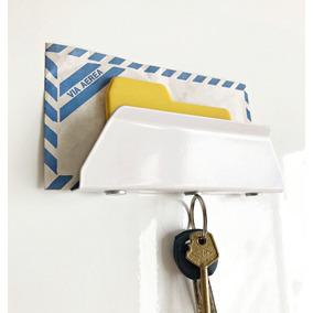 Porta Llaves Magnético Organizador Pared Chapa Objetos Hold