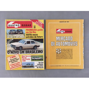 Revista Quatro Rodas - Agosto 1981 - Nº 253 Diplomata Gm