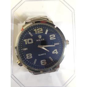 34583a47658 Relogio De Caixa Transparente Aco Luxo Rolex - Relógios De Pulso no ...