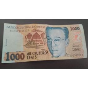 Cédula 1000 Mil Cruzeiros Reais Anísio Teixeira
