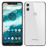 Smartphone Motorola One, Dual Chip, Branco, Tela 5,86 , 64gb