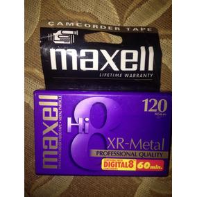 Cassette De 8mm Maxell 120 Min