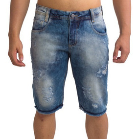 Kit 8 Bermudas Jeans Sortido Adulto Infantil Extra Masculino