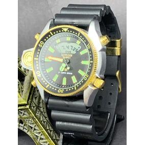 Relógio Masculino Citzen Aqualand Jp2000 + Caixa