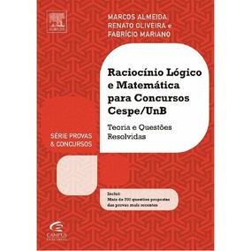 Livro Raciocínio Lógico E Matemática