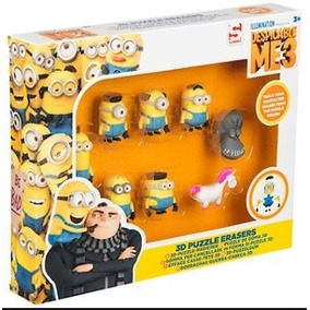 Borracha Meu Malvado Favorito 3d Puzzle Erasers Quebracabeça
