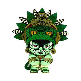 Figura Artesanal 10 Cm Dios Quetzalcoatl Neografika
