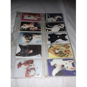 Cartões Telefonicos Série Cães