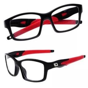 3c1aa9e74 Armaçao De Oculos Sport - Óculos Vermelho no Mercado Livre Brasil