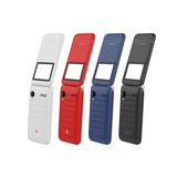 Celular Basico Doble Chip Almeja Concha Flip Bluetooth