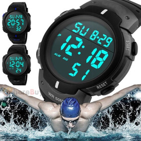 d91081adec3b Chico Lcd Digital Cronómetro Fecha Goma Sport Reloj por eBay · Danish  Design Iq19q881 Titanium Case - Reloj De Hombre