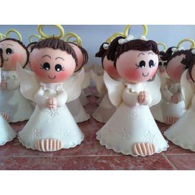 Recerdos De Angelitos Para Bautizo, Comunión Y Confirmacion