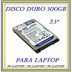 Disco Duro 500gb 2.5 Sata 5400rpm Para Laptop