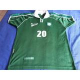 Camisa Do Palmeiras #20 Adriano - 2001 - Brasileiro