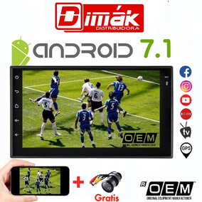 Radio/equipo Oem Android 7.1 /wifi,tv,gps,blue, Garantía!