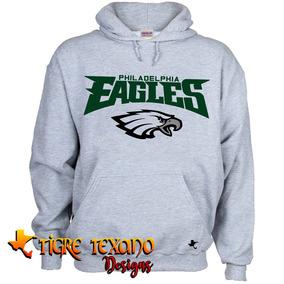 Sudadera Nfl Aguilas Filadelfia Eagles Tigre Texano Designs