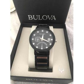 Reloj Bulova Original Con Diamantes