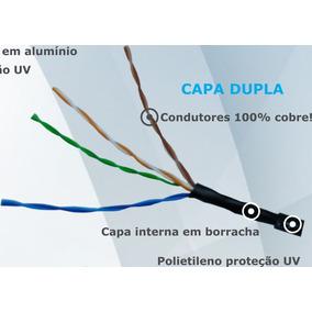 Cabo Utp 100% Capa Dupla 4 Pares 500m