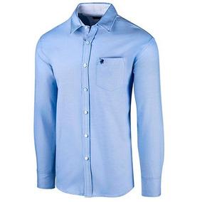 Camisa Polo Club Ca02636 Color Azul Caballero Oi