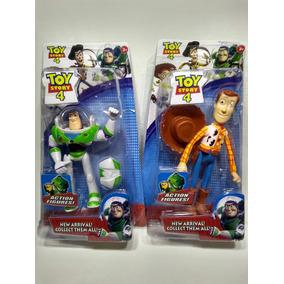 Bonecos Turma Toy Story Buzz E Woody Kit 2 Personagens