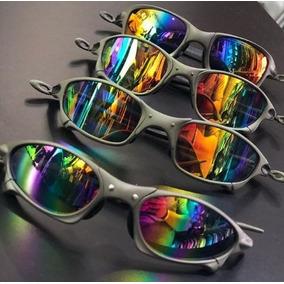 3fa71b030c3f5 Óculos Oakley Double X Lentes Arco-íris X Metal Juliet Lupa