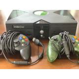 Xbox + 2 Palancas + 15 Juegos
