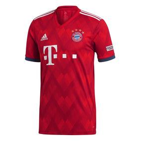 4b1e9e00bf43f Camiseta Futbol adidas Titular Fc Bayern Replica Hombre