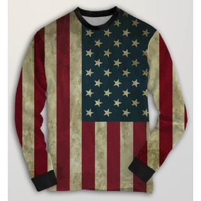 4a8c0423f7 Blusa Moletom Casaco Estados Unidos Usa Flag Usa Bandeira