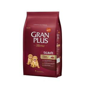 Ração Granplus Filhotes Para Cães Sabor Carne E Arroz - 15kg