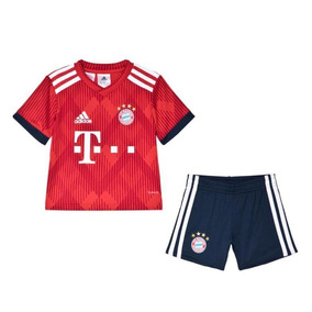 82cb9e7a58 Conjunto Infantil Camisa Shorts Bayer Munique 2018 Encomenda