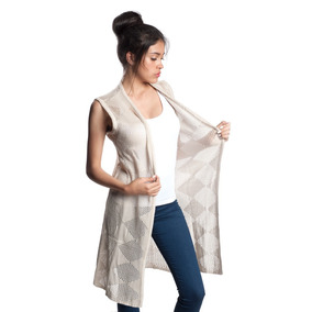 Chalecos Tejidos Para Mujer - Ropa y Accesorios en Mercado Libre ... f2e019541e3b