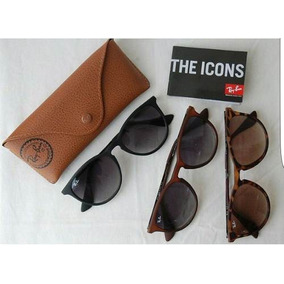 Óculos Ray Ban Erika Preto Degrade Fosco Original Rb4171. R  269 49 0603f81f3e