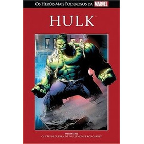Os Heróis Mais Poderosos Da Marvel: Hulk/p Entrega Garantida