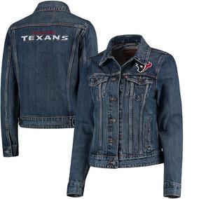 Houston Texans Levi s Chamarra Mezclilla Nfl Mujer Mediana 0eb3a6d6ed6
