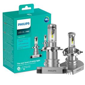 Par Lâmpada H4 Led Philips Ultinon Led 6200k 12v 15w Xenon