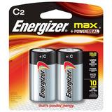 Batería Alcalina Energizer Max C Blister X2 Unidades (+c)
