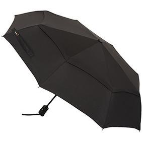 Umbrella Travel Amazonbasics Automático Con Viento Vent