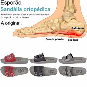 3 Pares Sandália Chinelo Ortopédica Feminina