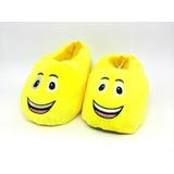 Pantufa Teddy Emoji Feliz