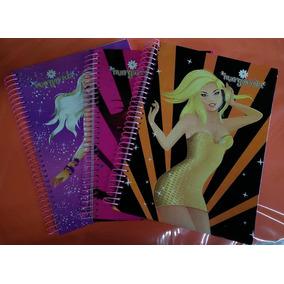 Pct Com 3 Cadernos De 10 Materias Feminino Margarida