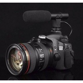 Microfone Shotgun Dslr Direcional Gravaçao Videos Youtubers