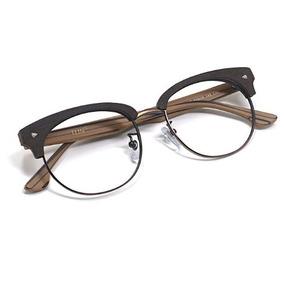 085aa8f879418 Armação Estilo Clubmaster - Óculos no Mercado Livre Brasil