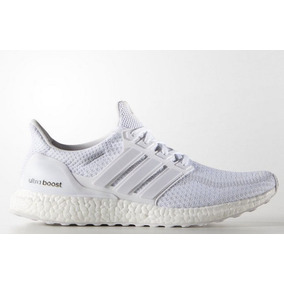 brand new 56aa0 7e40a Zapatillas adidas Ultra Boost Blanco 2.0 Unisex Original
