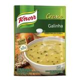 Kit 10 Sopa Creme De Galinha Knnor 64g