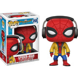 Funko Pop Spiderman Homecoming Con Audifonos (265)