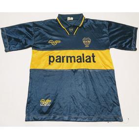 Camiseta Boca Juniors Parmalat Olan 1993 Talle M