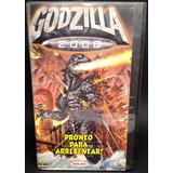 Godzilla 2000 Vhs