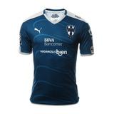 Jersey Camiseta Monterrey Rayados Suplente 2017 Aficionado
