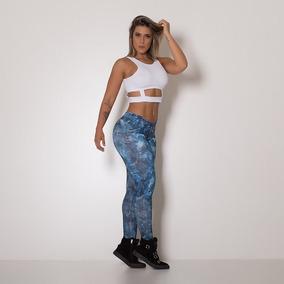 Kit Feminino Fitness Calça Legging + Bory. Moda Fitness 2018